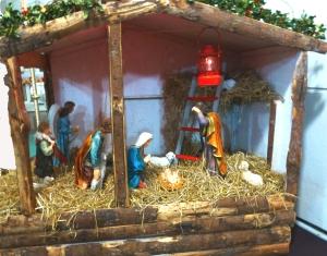 Crib in St Cronan's