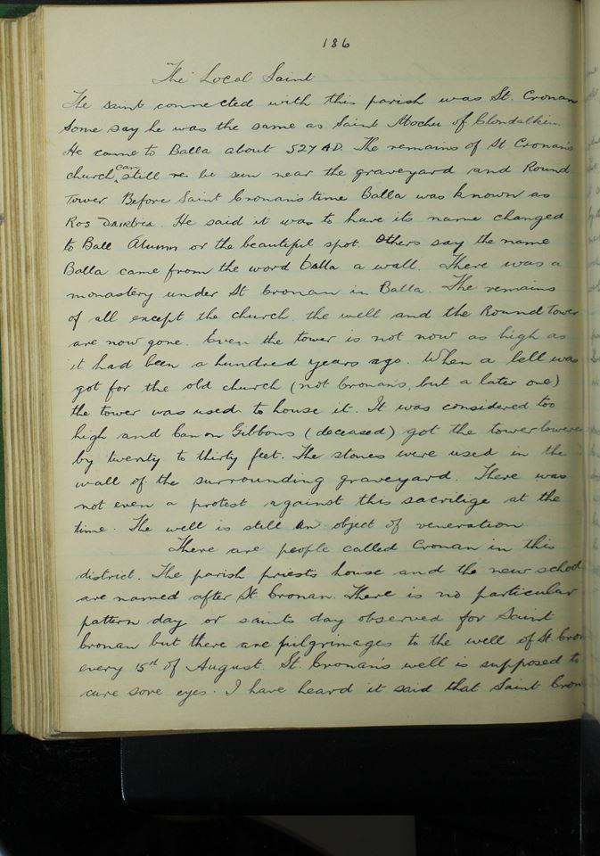 St Cronan Page 1