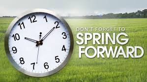 clocks forward time